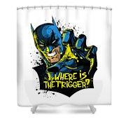 Batman Art Shower Curtain