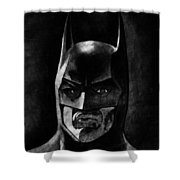 Batman Shower Curtain by Salman Ravish