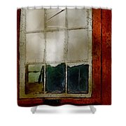 Battered Barn Shower Curtain