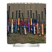 Batter's Choice Shower Curtain