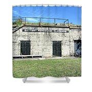 Battery Ferdinand Claiborne Shower Curtain