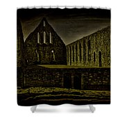 Battle Abbey Shower Curtain