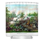 Battle Of Atlanta Shower Curtain