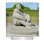 Battle Of Britain Memorial Shower Curtain