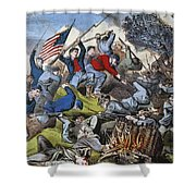 Battle Of Chattanooga 1863 Shower Curtain