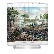 Battle Of Cold Harbor Shower Curtain
