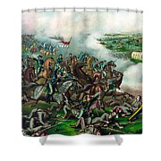 Battle Of Five Forks Shower Curtain