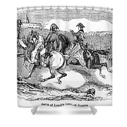 Battle Of Lundys Lane Shower Curtain