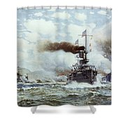 Battle Of Manila Bay 1898 Shower Curtain