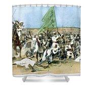 Battle Of Omdurman 1898 Shower Curtain
