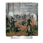 Battle Of Shiloh Shower Curtain