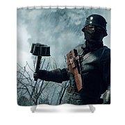 Battlefield 1 Shower Curtain