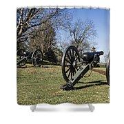 Battlefield At Fredericksburg Shower Curtain