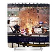 Battlefield Hardline Shower Curtain