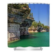 Battleship Row Shower Curtain