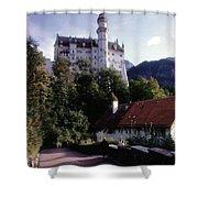 Bavarian Castle Shower Curtain