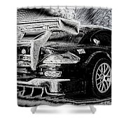 Bavarian Power Shower Curtain
