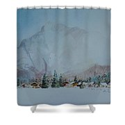 Bavarian Winter Shower Curtain
