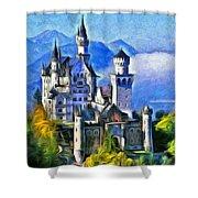 Bavaria's Neuschwanstein Castle Shower Curtain