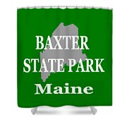 Baxter State Park Pride Shower Curtain