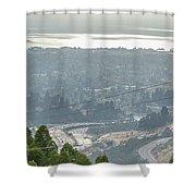 Bay Area Traffic Shower Curtain