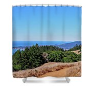 Bay Area Views Shower Curtain