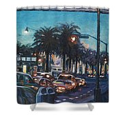Bay Bridge Shower Curtain