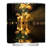 Bay City Fireworks - 2017 - 7 Shower Curtain