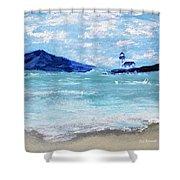 Bay Harbor Shower Curtain