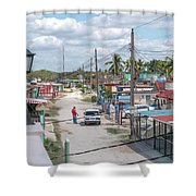 Bay Of Pigs Shower Curtain
