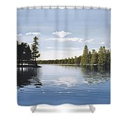 Bay On Lake Muskoka Shower Curtain