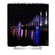 Bay View Flags Shower Curtain