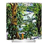 Bay View Tobago Shower Curtain