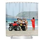 Bay Watch Uk Shower Curtain