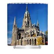 Bayeau Cathedral Shower Curtain
