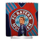 Bayern Munchen Painting Shower Curtain