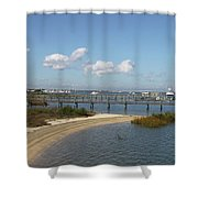 Bayfront St. Augustine Shower Curtain