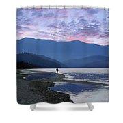 Baykal Lake Shower Curtain