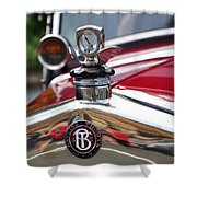 Bayliss Thomas Badge And Hood Ornament Shower Curtain