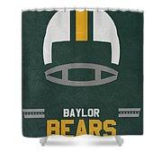 Baylor Bears Vintage Football Art Shower Curtain
