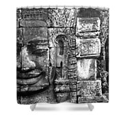 Bayon IIi Shower Curtain