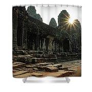Bayon Temple Shower Curtain