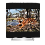 Bayou Mike Of Louisiana Shower Curtain