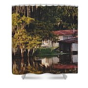 Bayou Shack Shower Curtain