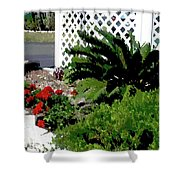 Bayshore Garden Shower Curtain