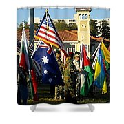Bayshore Patriots Shower Curtain