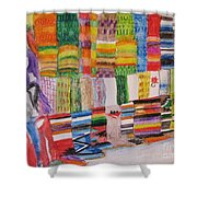 Bazaar Sabado - Gifted Shower Curtain