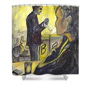 Bb Jazz Shower Curtain