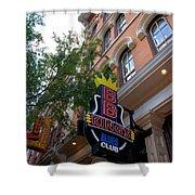Bb King Bar Nashville Shower Curtain
