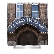 B.b. King's Blues Club Shower Curtain